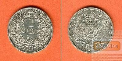 Deutsches Reich 1 Mark 1905 G  f.vz