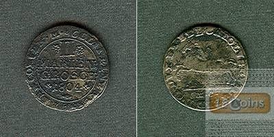 Braunschweig Wolfenbüttel 2 Mariengroschen 1804  ss  selten