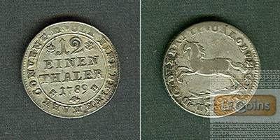 Braunschweig Wolfenbüttel 1/12 Taler 1789  ss/vz