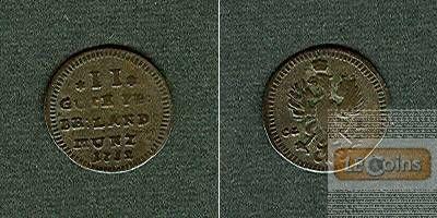Brandenburg Bayreuth 2 Gute Pfennige 1752  f.ss