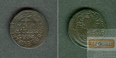 Dortmund 1/4 Stuber 1760  f.ss