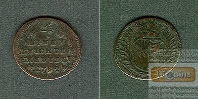 Würzburg 1/4 Kreuzer 1752  s-ss