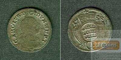 Württemberg 1 Kreuzer 1758  s-ss/ss+