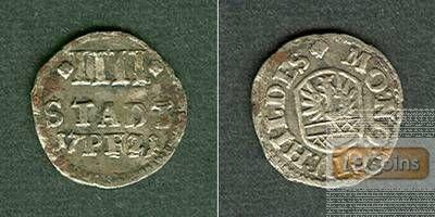 Hildesheim 4 Pfennige 1721  ss/ss-vz