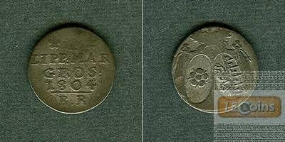 Lippe 1 Marien Groschen 1804  s+/ss-  selten