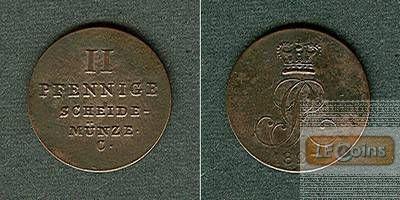 Hannover 2 Pfennige 1827 C vz-st.!
