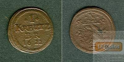 Nürnberg 1 Kreuzer 1622  ss-  selten