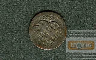 Bayern 1/2 Kreuzer 1765  ss
