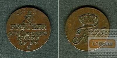 Brandenburg Preussen Schlesien 1/2 Kreuzer 1797 B  ss