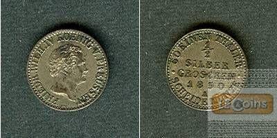 Preussen 1/2 Silber Groschen 1850 A  f.vz