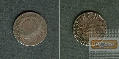 Preussen 1 Silber Groschen 1844 A  s/ss