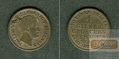 Preussen 1 Silber Groschen 1821 A  ss