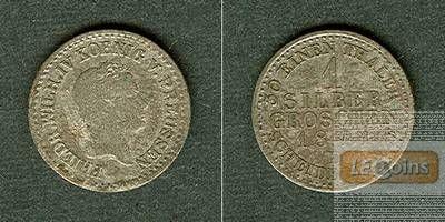 Preussen 1 Silber Groschen 1841 D  ss-/ss