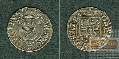 Brandenburg Preussen 1/24 Taler 1625  ss+  selten