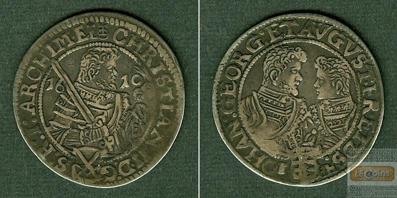 Sachsen 1/4 Taler 1610 HR  ss-vz  selten