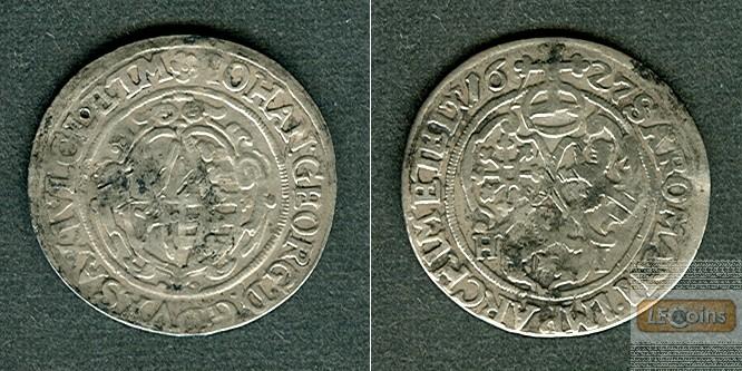 Sachsen 1/24 Taler (Groschen) 1627 HI  f.ss