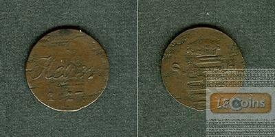 Sachsen Hildburghausen 1 Heller 1817  ss-  selten!