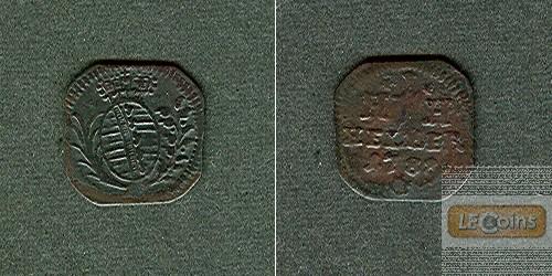 Sachsen Hildburghausen 1 Heller 1788  ss+/s-ss