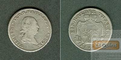 Hessen Kassel 1/2 Taler 1789 F s-ss/ss