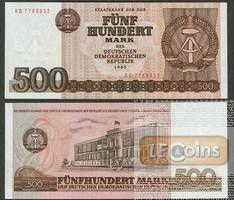 DDR: 500 MARK 1985  Ro.365a  I