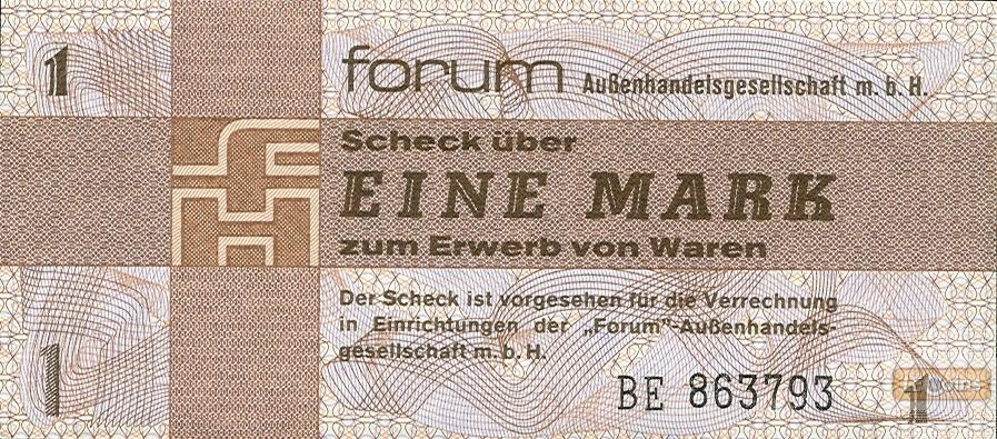 DDR: Forum-Scheck 1 MARK 1979  Ro.368a  I
