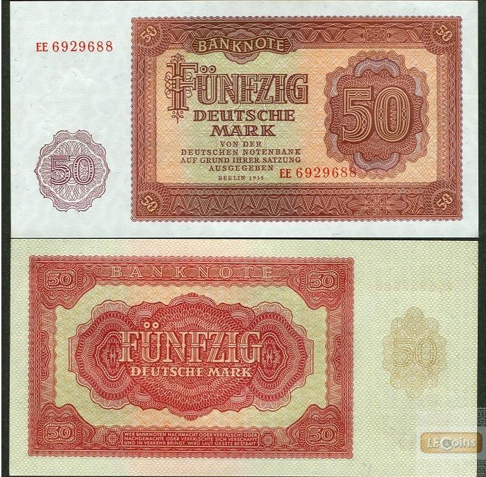 DDR: 50 DEUTSCHE MARK 1955  Ro.352a  I-