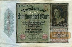 500 MARK 1922  Ro.70  II-