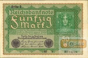 50 MARK 1919  Ro.62b  I
