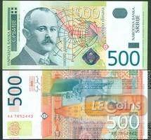 SERBIEN  500 Dinar 2004  f.I