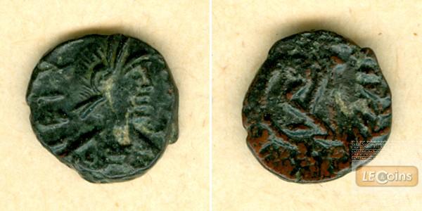 Vandalen: GELIMER (Geilamir) AE Nummus ss-vz  selten!  [530-534]