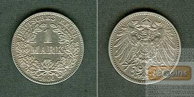 Deutsches Reich 1 Mark 1906 G  ss-vz