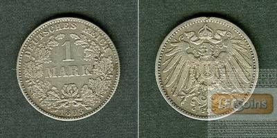 Deutsches Reich 1 Mark 1893 F ss+
