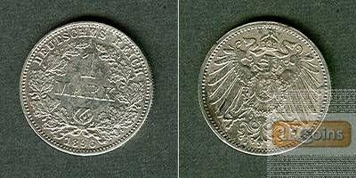 Deutsches Reich 1 Mark 1896 J (J.17)  ss-vz