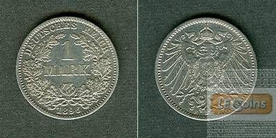 Deutsches Reich 1 Mark 1896 F (J.17)  ss+