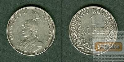 Deutsch Ostafrika 1 Rupie 1911 J  ss+/vz-