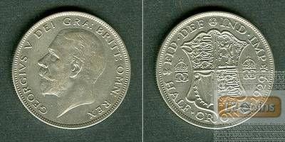 Großbritannien Half Crown 1929  ss/vz-