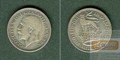Großbritannien One Shilling 1930 ss+