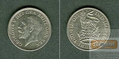 Großbritannien One Shilling 1932 vz/vz+