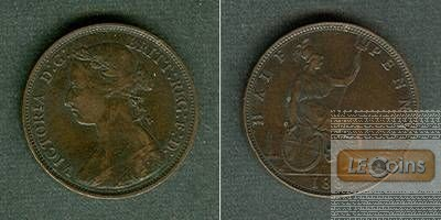 Großbritannien / Great Britain  Half Penny 1883  ss+