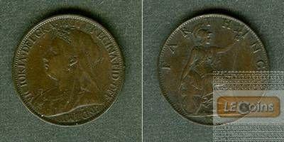 Großbritannien Farthing 1901  f.vz