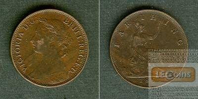 Großbritannien Farthing 1891  vz-
