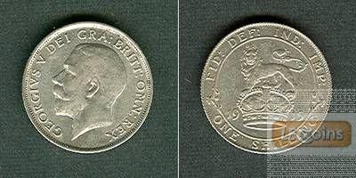 Großbritannien / Great Britain  One Shilling 1915  ss-vz