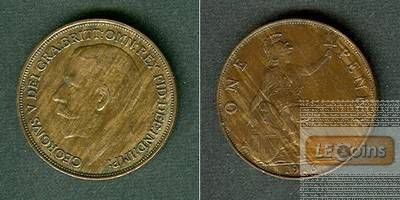 Großbritannien One Penny 1916  ss-vz