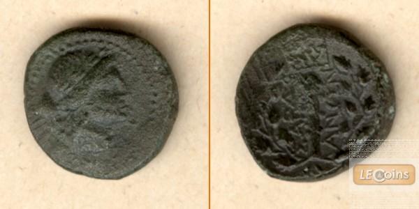 AE15 Bronze aus Sardeis / Lydia  2.-1. Jh. v.Chr.  ss+