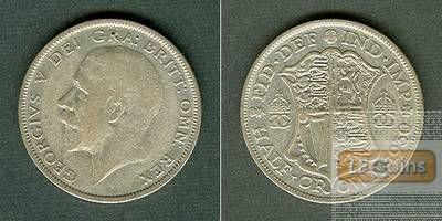 Großbritannien Half Crown 1930  ss/ss+  selten!