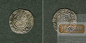 Ungarn Denar 1585 K-B Rudolf II.  ss/ss-vz