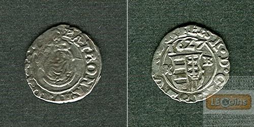 Ungarn Denar 1627 K-B Ferdinand II.  ss-vz/ss  selten