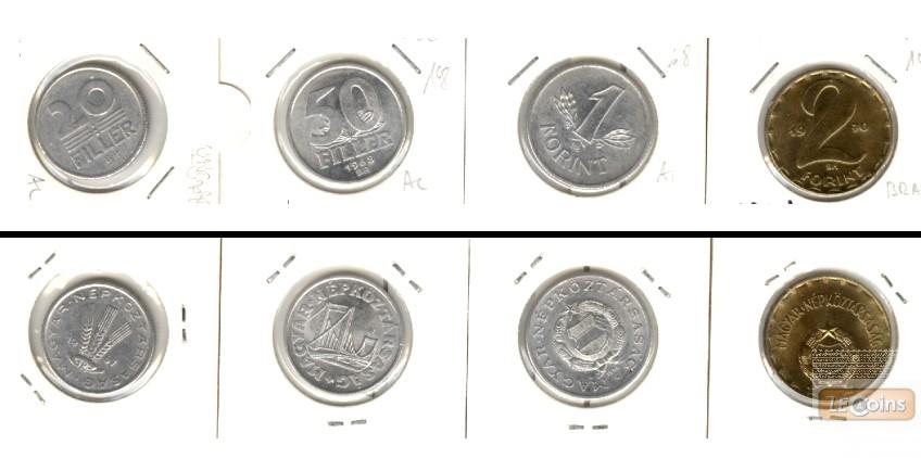 Lot:  UNGARN  4x Filler + Forint  [1967-1970]
