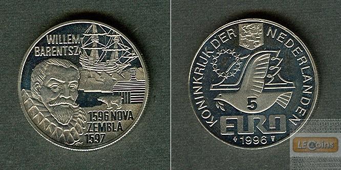Medaille NIEDERLANDE 5 EUR 1996  stgl.