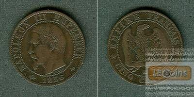 FRANKREICH 5 Centimes 1856 BB  ss